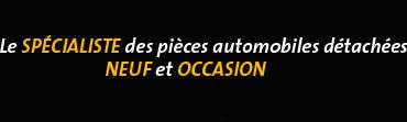 Autochoc.fr vous propose un grand choix de pièces détachées neuves et d'occasion