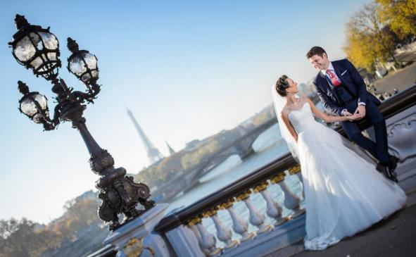 Photographie de mariage avec Agence Pearl