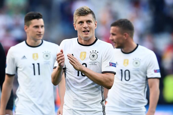 Toni Kroos - Lukas Podolski - Julian Draxler